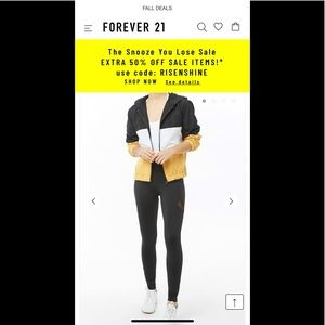 Forever 21 Mesh Leggings